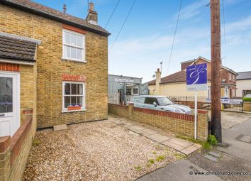 Thumbnail 2 bed end terrace house for sale in Station Road, Chertsey