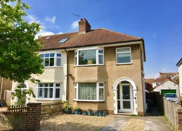 Thumbnail 3 bed semi-detached house for sale in Mansfield Avenue, Milton, Weston-Super-Mare