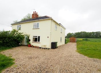 Thumbnail 3 bedroom semi-detached house to rent in Mattishall Road, Brandon Parva, Norwich