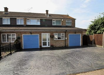 Thumbnail 4 bed semi-detached house for sale in Tudor Way, Waltham Abbey