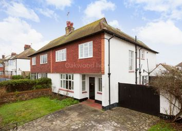 Thumbnail 4 bed semi-detached house for sale in Cliffe Avenue, Margate