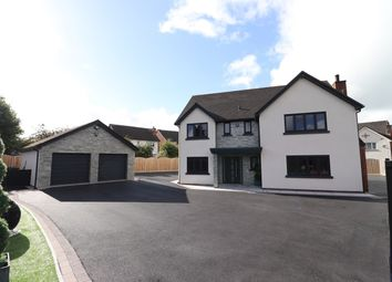 Thumbnail 4 bed detached house for sale in Orchard Lea, Wigton Road, Carlisle