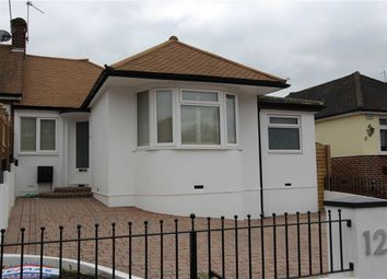 Thumbnail 3 bed semi-detached bungalow for sale in Newlands Road, Woodford Green, Essex
