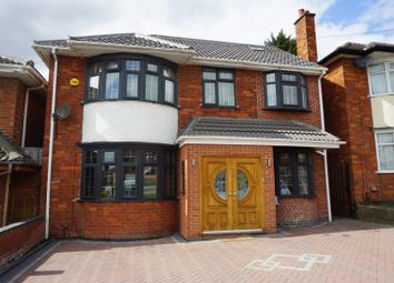 Thumbnail 5 bed detached house for sale in Stoughton Drive, Leicester