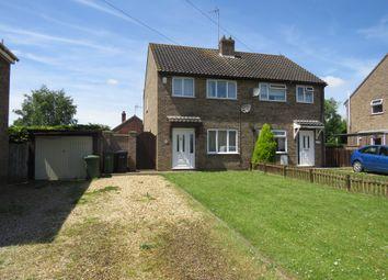 Thumbnail 3 bed semi-detached house for sale in John Davis Way, Watlington, King's Lynn