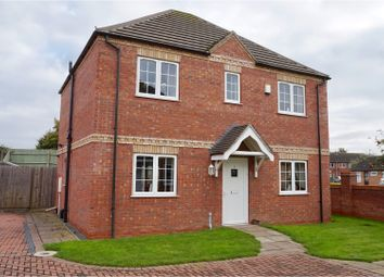 Thumbnail 4 bed detached house for sale in Ploughman Court, North Hykeham