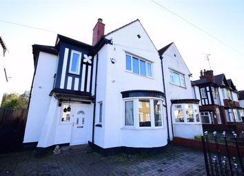 Thumbnail 4 bed semi-detached house for sale in Kingsway, Wallasey