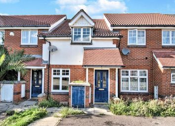 Thumbnail 2 bed terraced house for sale in Greenhaven Drive, Thamesmead, Near Woolwich, London
