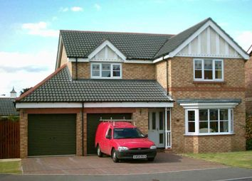 Thumbnail 4 bed detached house to rent in Shuttleworth Close, Rossington, Rossington, Doncaster