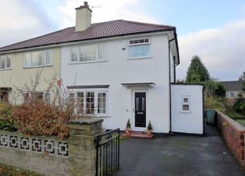 Thumbnail 3 bed semi-detached house for sale in Parrenthorn Road, Prestwich, Manchester