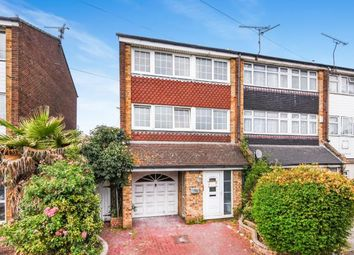 Thumbnail 4 bedroom terraced house for sale in Tilbury, Essex, .