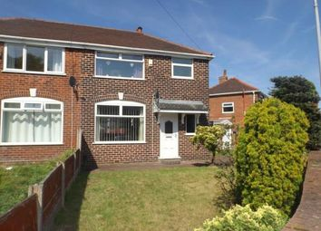 Thumbnail 3 bed semi-detached house for sale in Leyland Avenue, Irlam, Manchester, Greater Manchester