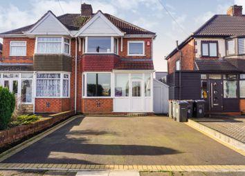 Thumbnail 3 bed semi-detached house for sale in Kingshurst Road, Birmingham