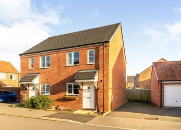 Thumbnail 2 bed semi-detached house for sale in Dunnock Road, Bodicote, Banbury