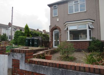 Thumbnail 2 bed semi-detached house for sale in Burnham Road, Whitley, Coventry