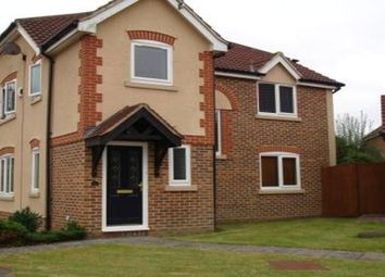 Thumbnail 3 bed detached house to rent in Aghemund Close, Basingstoke