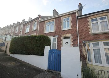 Thumbnail 3 bed terraced house to rent in Clinton Avenue, Plymouth