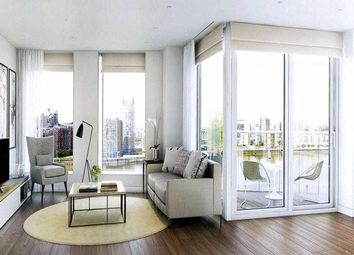 Thumbnail 2 bed flat for sale in 2 Waterview Drive, London