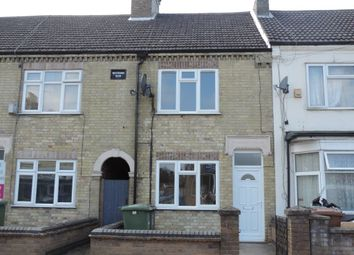 Thumbnail 3 bedroom terraced house to rent in Aldermans Drive, West Town, Peterborough