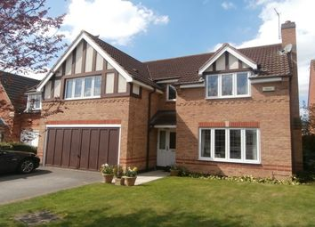 Thumbnail 4 bed detached house to rent in Brook End, East Leake