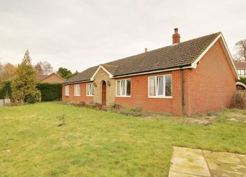 Thumbnail 3 bed detached bungalow for sale in Manton, Gainsborough