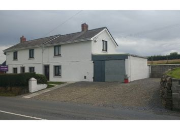 Thumbnail 3 bed detached house for sale in Llangynin, Carmarthen