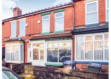 Thumbnail 3 bed terraced house for sale in Windsor Road, Birmingham