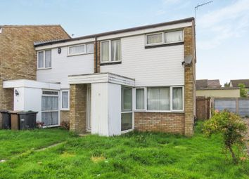 Thumbnail 3 bedroom end terrace house for sale in Erin Close, Luton