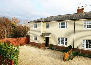 Thumbnail 4 bed semi-detached house for sale in Cambridge Road, Sawbridgeworth, Hertfordshire