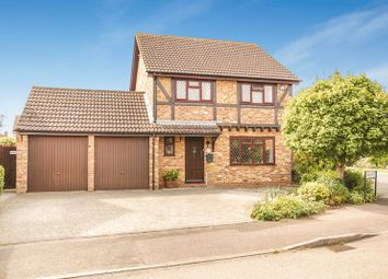 Thumbnail 4 bed detached house for sale in Kingfisher Way, Bicester