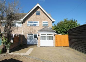 Thumbnail 4 bed semi-detached house for sale in Church Road, Totternhoe, Bedfordshire