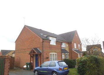 Thumbnail 2 bed property to rent in Little Meer Close, Thorpe Astley, Braunstone, Leicester