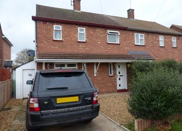 Thumbnail 2 bedroom semi-detached house for sale in Central Avenue, Dogsthorpe, Peterborough