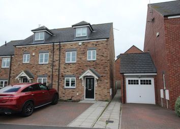 Thumbnail 4 bed semi-detached house to rent in Trinity Court, Seaham