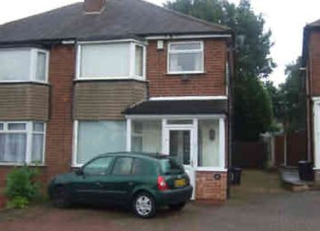Thumbnail 3 bedroom semi-detached house to rent in Valerie Grove, Great Barr, Birmingham