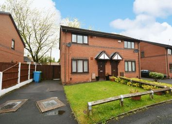 Thumbnail 2 bed semi-detached house for sale in Kerris Close, Woodhouse Park, Manchester