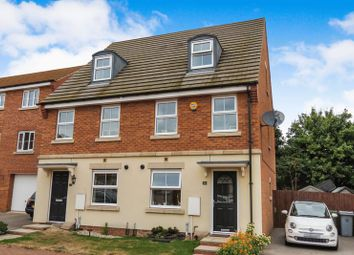 Thumbnail 3 bed semi-detached house for sale in Newbury Crescent, Bourne