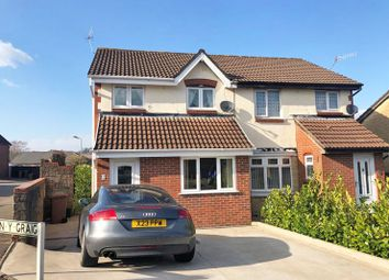 Thumbnail 4 bed semi-detached house for sale in Gelliron, Penpedairheol, Hengoed