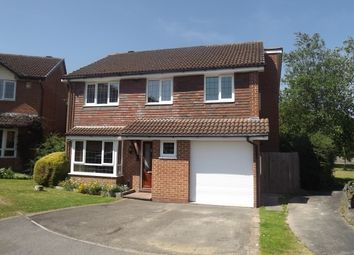 Thumbnail 4 bed detached house to rent in Brambling Close, Basingstoke