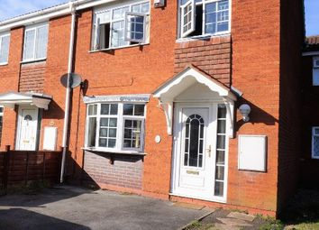 Thumbnail 3 bedroom terraced house for sale in Eastney Crescent, Pendeford, Wolverhampton