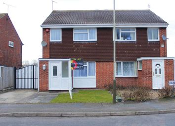 Thumbnail 3 bedroom semi-detached house to rent in Gilbert Close, Leicester