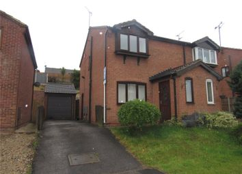Thumbnail 2 bed semi-detached house to rent in Little Hollies, Forest Town, Nottinghamshire
