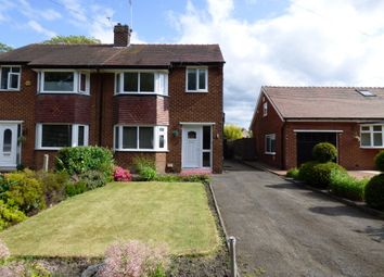Thumbnail 3 bedroom semi-detached house for sale in Barlows Lane South, Hazel Grove, Stockport