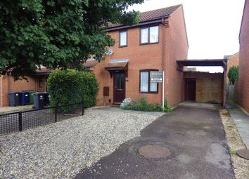 Thumbnail 2 bedroom semi-detached house to rent in Swift Close, St. Neots