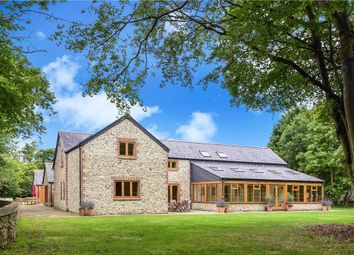 Thumbnail 5 bed equestrian property for sale in Axmouth, East Devon