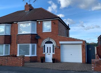 Thumbnail 3 bed semi-detached house for sale in Mount Avenue, Worksop
