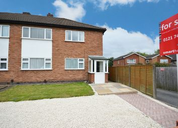 Thumbnail 2 bed maisonette for sale in Aqueduct Road, Shirley, Solihull