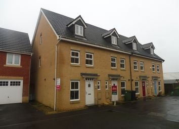 Thumbnail 3 bed end terrace house for sale in Willowbrook Gardens, St. Mellons, Cardiff