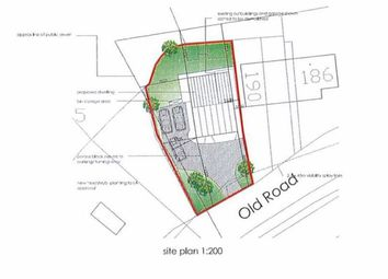 Thumbnail Land for sale in Old Road, Bignall End, Stoke-On-Trent