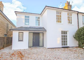 Thumbnail 4 bed semi-detached house for sale in Manor Road, East Molesey